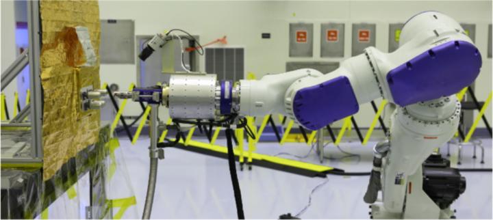 Robot arm demonstration